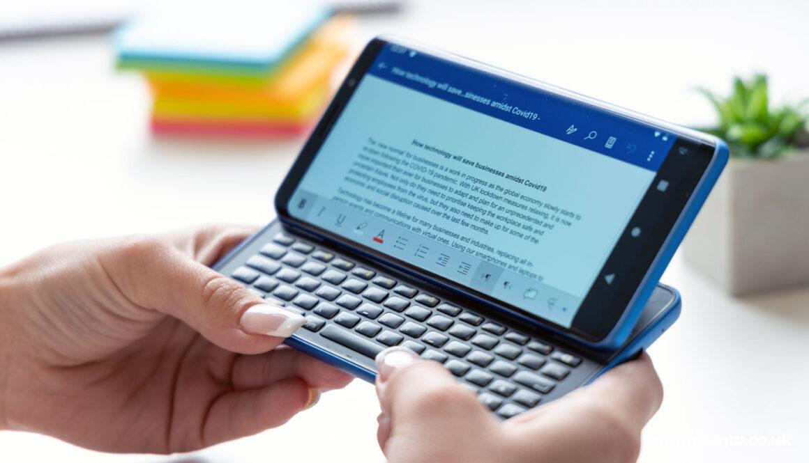 ubuntu touch na smartfonie